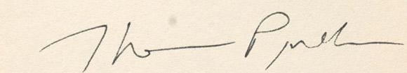Pynchon-podpis