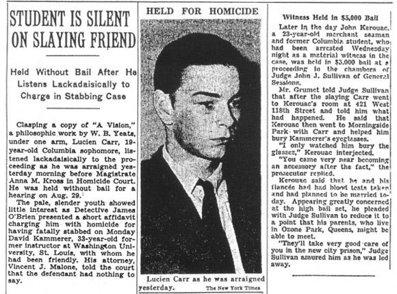 """Wycinek prasowy z """"The New York Timesa"""" z 18 sierpnia 1944."""
