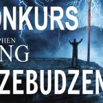 """Wygraj kolekcjonerskiej komplety """"Przebudzenia"""" Stephena Kinga (książka + kalendarz + energy drink)"""