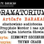"""Posłuchaj na żywo audiobooka """"Przyjdzie Mordor i nas zje?"""" w krakowskim Teatrze Barakah"""