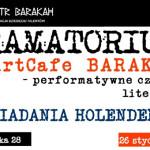 Opowiadania holenderskie w krakowskim Teatrze Barakah