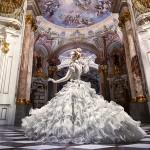 Pierwsza sesja zdjęciowa w największej bibliotece klasztornej na świecie