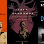 Okładki słynnych powieści autorstwa najlepszych twórców komiksowych