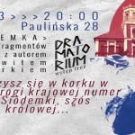 """""""Dramatorium"""" z Ziemowitem Szczerkiem w czwartek w Teatrze Barakah"""