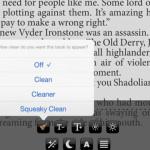 Pisarze mówią stop usuwaniu wulgaryzmów z książek w aplikacji Clean Reader
