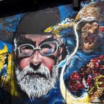Graffiti w hołdzie Terry?emu Pratchettowi