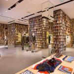 Sonia Rykiel otwiera butiki, w których wystrój zdominowały regały z książkami
