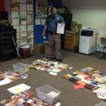 Były internetowy handlarz wyrzucał książki na autostradzie, bo nie wiedział, jak się ich pozbyć