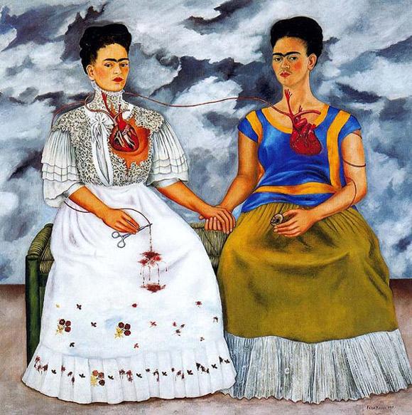 """Frida Kahlo """"Dwie Fridy"""" (1939)"""