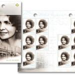 Alice Munro trafiła na kanadyjski znaczek pocztowy