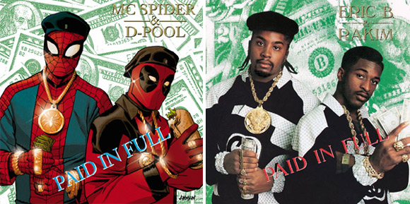 "Spider-Man/Deadpool #1 (Eric B. & Rakim ""Paid in Full"")"