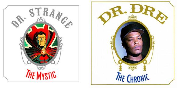 """Doctor Strange #1 (Dr. Dre """"The Chronic"""")"""