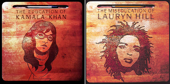 "Ms. Marvel #1 (Lauryn Hill ""The Miseducation of Lauryn Hill"")"