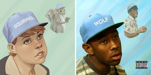 """The Unbeatable Squirrel Girl #1 (Tyler, the Creator """"Wolf"""")"""