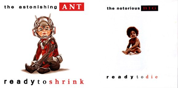 """Ant-Man #1 (The Notorious B.I.G. """"Ready to Die"""")"""