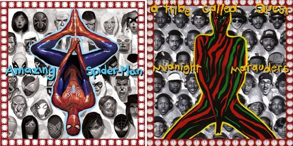 """Amazing Spider-Man #1 (A Tribe Called Quest """"Midnight Marauders"""")"""
