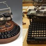 Maszyny do pisania należące do słynnych pisarzy