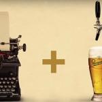 Czeski browar Staropramen stworzył nalewak do piwa sterowany maszyną do pisania