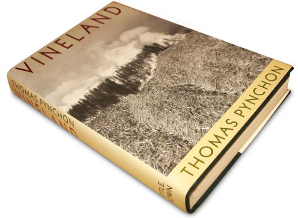 """Okładka pierwszego amerykańskiego wydania """"Vineland""""."""