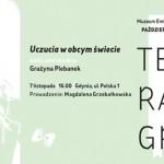 """Grażyna Plebanek kolejnym gościem cyklu """"Literatura bez granic"""" w Gdyni"""