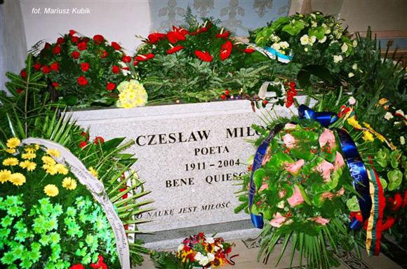 Czesław Miłosz (Krypta Zasłużonych na Skałce, Kraków)