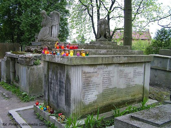 Gabriela Zapolska (Cmentarz Łyczakowski, Lwów)