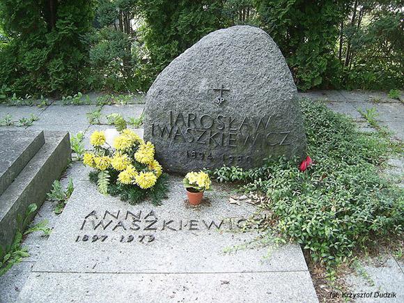 Jarosław Iwaszkiewicz (Cmentarz w Brwinowie)