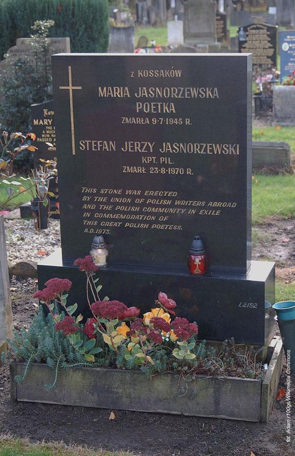Maria Pawlikowska-Jasnorzewska (Southern Cemetery w Manchesterze, Anglia)