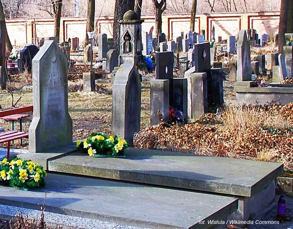 Jerzy Edigey (wł. Korycki, Muzułmański Cmentarz Tatarski, Warszawa)