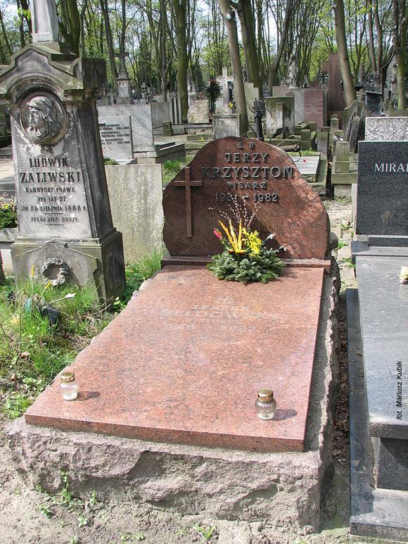 Jerzy Krzysztoń (Cmentarz Powązkowski, Warszawa)