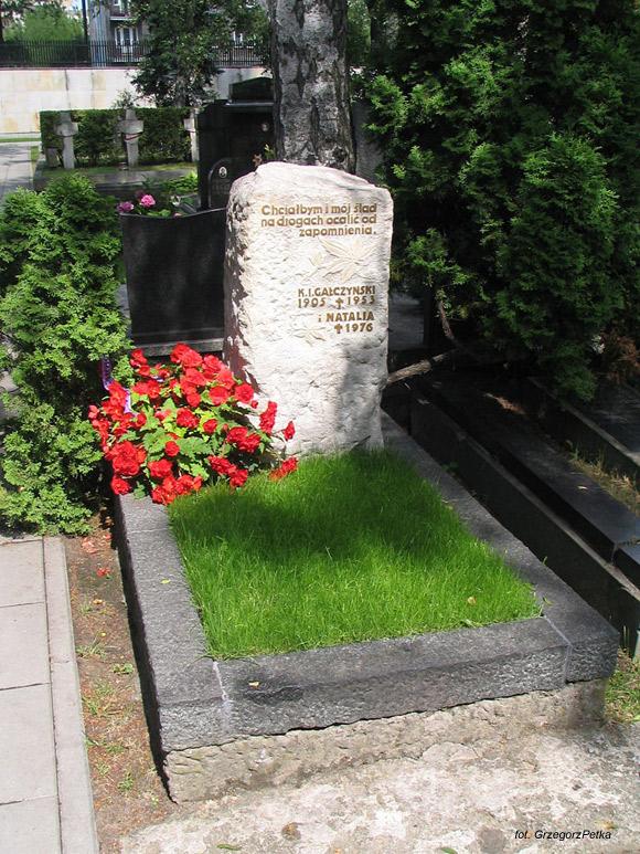 Konstanty Ildefons Gałczyński (Cmentarz Wojskowy na Powązkach, Warszawa)