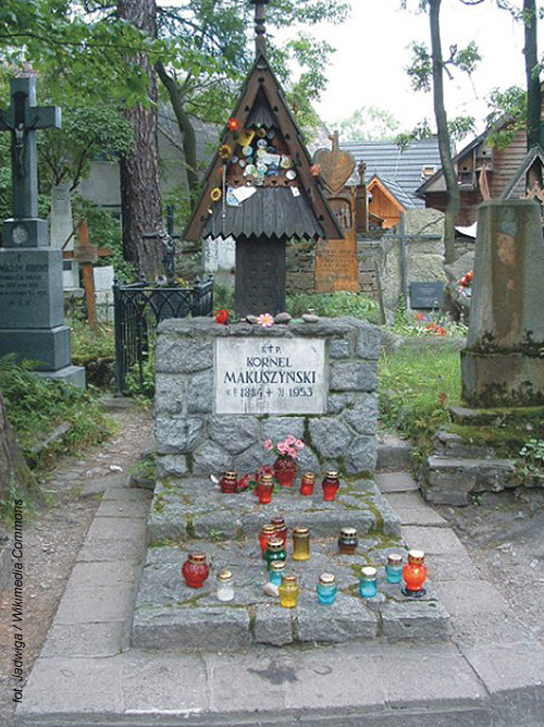 Kornel Makuszyński (Cmentarz Zasłużonych na Pęksowym Brzyzku, Zakopane)