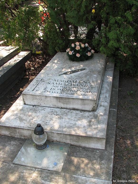 Magdalena Samozwaniec (Cmentarz Wojskowy na Powązkach, Warszawa)