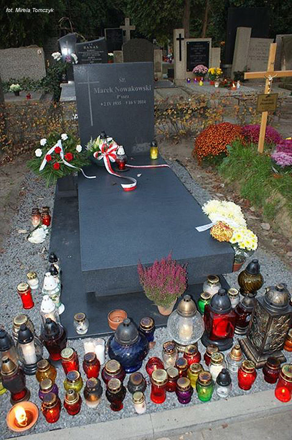 Marek Nowakowski (Cmentarz Wojskowy na Powązkach, Warszawa)