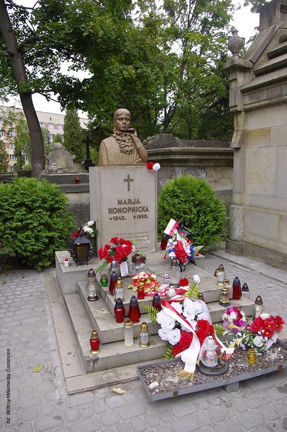 Maria Konopnicka (Cmentarz Łyczakowski, Lwów)