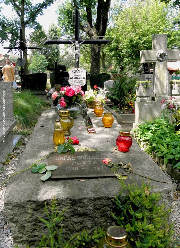 Rafał Wojaczek (Cmentarz Świętego Wawrzyńca, Wrocław)