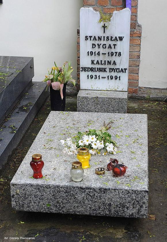 Stanisław Dygat (Cmentarz Powązkowski, Warszawa)