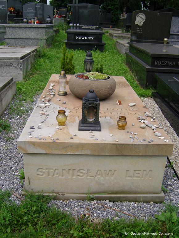 Stanisław Lem (cmentarz Salwatorski, Kraków)