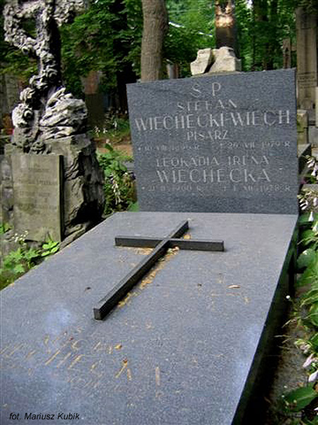 """Stefan """"Wiech"""" Wiechecki (Cmentarz Powązkowski, Warszawa)"""
