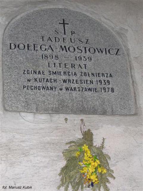 Tadeusz Dołęga-Mostowicz (Cmentarz Powązkowski, Warszawa)