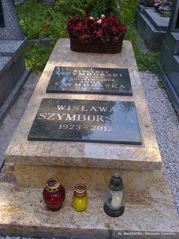 Wisława Szymborska (Cmentarz Rakowicki, Kraków)