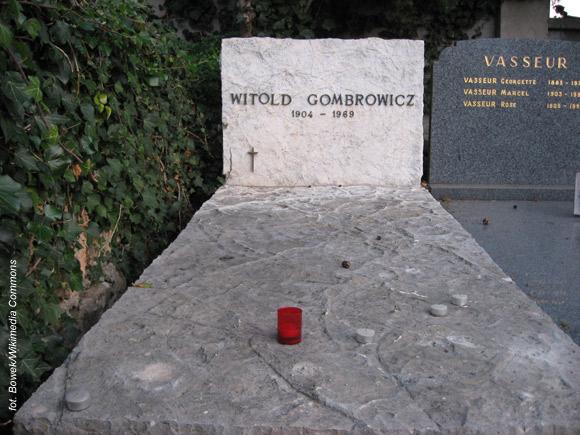 Witold Gombrowicz (Vence, Francja)