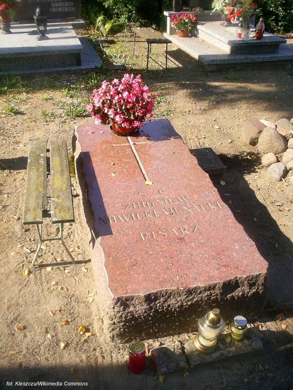Zbigniew Nienacki (cmentarz w Jerzwałdzie)