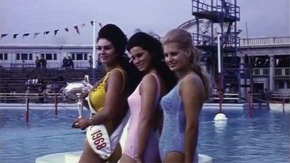 Laureatki konkursu Miss Blackpool w 1968 roku.