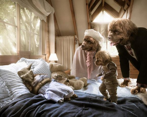 """""""Złotowłosa i trzy niedźwiadki"""""""
