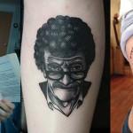 Tatuaże inspirowane osobą i twórczością Kurta Vonneguta