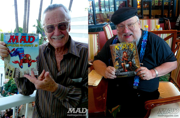 Stan Lee i George R.R. Martin.
