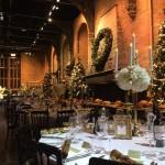 Zobacz, jak wyprawiono świąteczny obiad w Wielkiej Sali Hogwartu