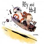 """Rysownik Disneya pokazuje, co wyszłoby z połączenia """"Gwiezdnych wojen"""" z """"Calvinem i Hobbesem"""""""