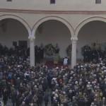 Na Zamku Sforzów w Mediolanie odbył się pogrzeb Umberta Eco